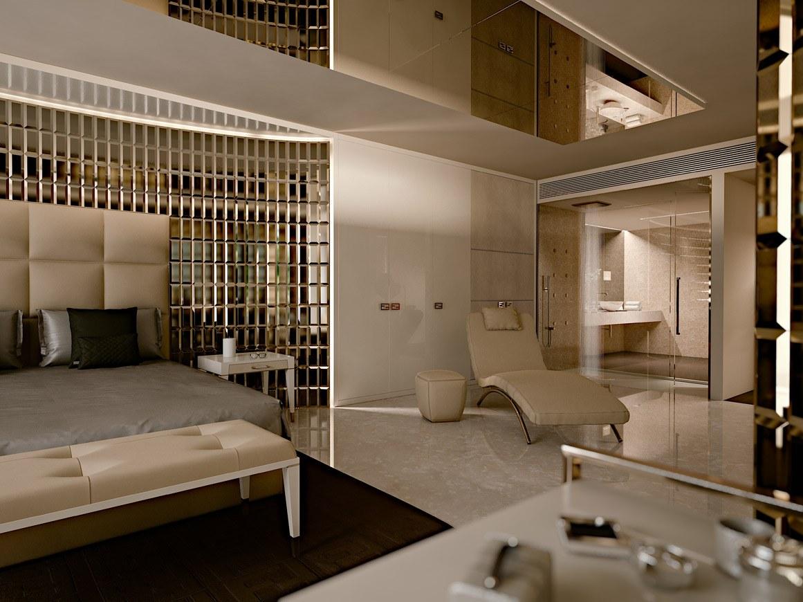 area notte/night, armadi progetto cattaneo design per la ditta SCIC by FENDI complementi arredo FENDI